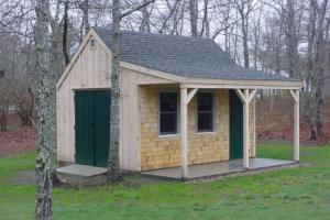 Cape Cod Storage Shed Plans Shed Builder